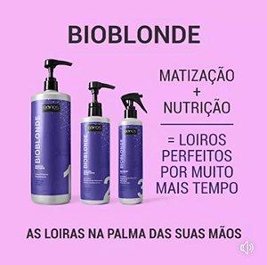Biofios  Bioblond Tratamento Nutrição Profissional Loiras 3 itens