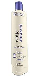 Mascara Mineral Clear Tratamento Hidronutrição Argila White Amazon Kenzza