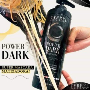 Matizador Profissional Black Tyrrel Power Dark 500ml