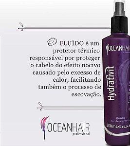Fluído High Temperature Hydrativit 300ml - Ocean Hair