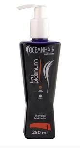 KEY PLATINUM - SHAMPOO MATIZADOR 250 ML - OCEAN HAIR