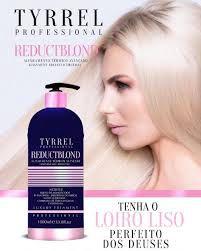 Reduct Blond Tyrrel - Progressiva sem formol para loiras 1 litro