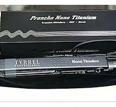 Prancha Nano Titanium Bivolt 450°F Tyrrel Profisional