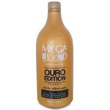 Mega Blend Ouro Edition Escova Progressiva 1000ml