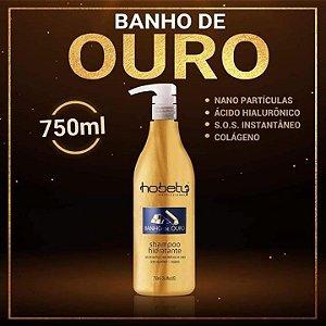 Shampoo Banho de Ouro 750ml Hobety