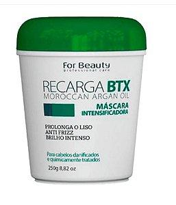 For Beauty Recarga BTX - Máscara Intensificadora de Liso 250g