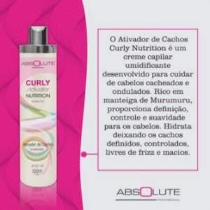 Ativador Umidificador de cachos Absolute 500ml