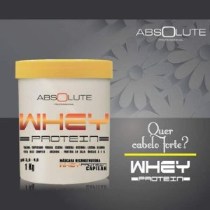 Máscara Absolute Whey Protein 500gr