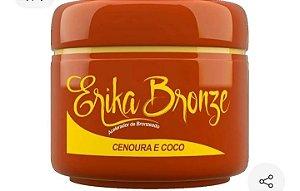 Acelerador Bronzeador Erika Bronze Cenoura E Coco Pele Escura