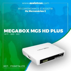 MEGABOX MG5 HD PLUS WIFI SKS IKS 2ANT. BRANCO