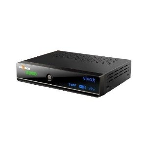 SATBOX VIVO X HD 4K ACM WIFI H.265 SKS IKS 2ANT. PRETO
