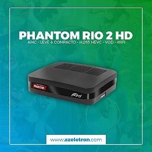 PHANTOM RIO 2 HD H.264 ACM WIFI IKS SKS 2ANT PRETO
