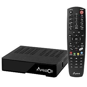 AUDISAT C1 HD VOD FTA MKV WIFI C$ 1ANT PRETO