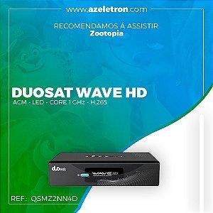 DUOSAT WAVE HD ACM VOD IPTV SKS H.265 Core 1 GHz 2ANT PRETO