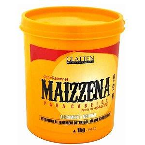 .Máscara de Hidratação Glatten Maizzena 1 Kg