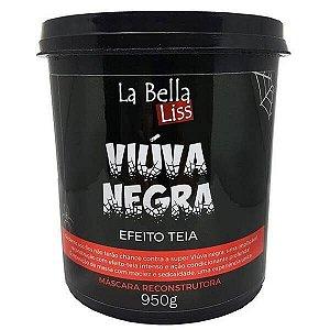 Máscara Reconstrutora Viúva Negra Efeito Teia La Bella Liss 950g