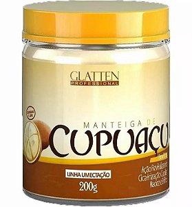 Máscara de Umectação Manteiga de Cupuaçu Glatten 200g