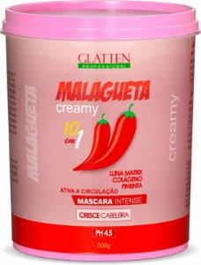Máscara Malagueta Glatten 500g