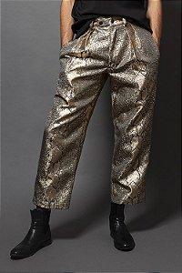 Calça Cobra Dourado