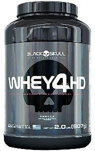 Whey 4HD (907g) - Black Skull