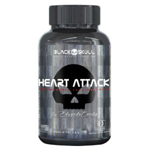 HEART ATTACK (60 caps) - Black Skull by Eduardo Corrêa