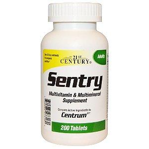Sentry Multivitamínico 200 caps - Century