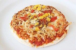 MINI PIZZA DE FRANGO (SEM GLÚTEN E SEM LACTOSE)