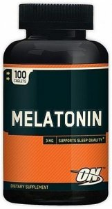 Melatonina 3mg 100 cápsulas - Optimum Nutrition