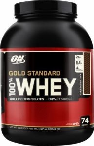 Gold Standard 5lb - Whey Optimun Nutrition