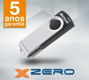 Pendrive 32GB Multilaser USB 2.0 Preto