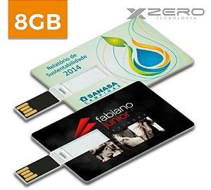 Pencard Personalizado 8GB - Formato Cartão