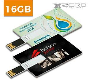 Pencard Personalizado 16GB - Formato Cartão