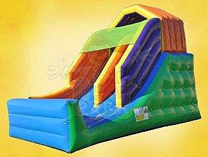 Tobogã Play - TG - Tamanho 5,5 m comprimento x 3,8 m largura x 4,20 m altura