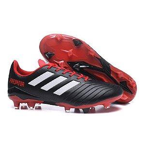 382dd28c7c ... inexpensive chuteira adidas predator fg preto vermelho campo 969f5 cd915