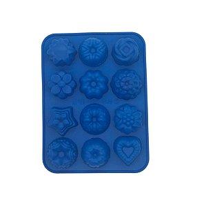 Forma 12 Cavidades Formatos Silicone