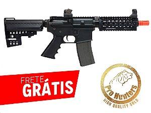 RIFLE AIRSOFT M4 RIS Daniel Defense CQB Full Metal Ares AR-043E