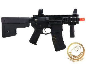 RIFLE AIRSOFT M4 ARES AMOEBA AM-007 Stubby Combat Gear- Black
