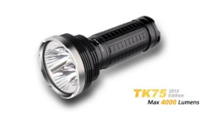 LANTERNA FENIX TK75 -AUTONOMIA DE ATÉ 270h- 4000 lumens