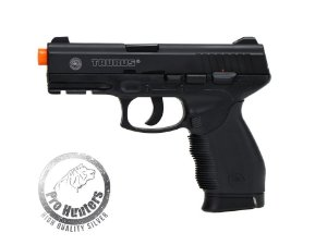 "PISTOLA AIRSOFT TAURUS PT24/7 -""NBB / SLIDE FIXO DE METAL"" CO2 - CYBERGUN 210303"