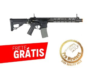 RIFLE AIRSOFT M4 ARES OCTARMS FULL METAL KM12 - Black