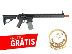 RIFLE AIRSOFT M4 ARES OCTARMS FULL METAL KM15 - Black