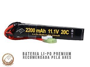 BATERIA PARA AIRSOFT - 20C - 3 CÉLULAS - 2200 mAh - 11.1V