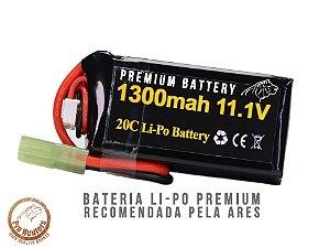 BATERIA PARA AIRSOFT -20C- 1 Pack - 1300 mAh - 11.1V