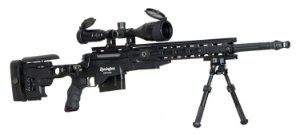 SNIPER RIFLE AIRSOFT REMINGTON MSR 700 ARES AMOEBA POWER BOLT ACTION - Black
