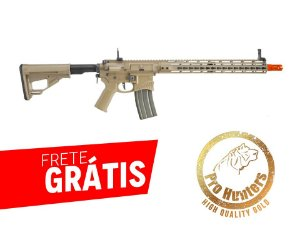 EMG- RIFLE AIRSOFT M4 SHARPS BROS FULL METAL 15 POLEGADAS - Dark Earth