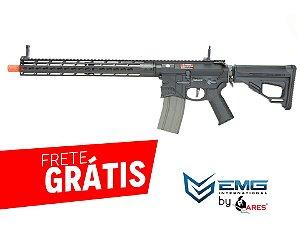 EMG- RIFLE AIRSOFT M4 SHARPS BROS FULL METAL 15 POLEGADAS - Black