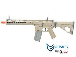 EMG- RIFLE AIRSOFT M4 SHARPS BROS FULL METAL 10 POLEGADAS - Dark Earth