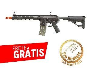 EMG- RIFLE AIRSOFT M4 SHARPS BROS FULL METAL 10 POLEGADAS - Black