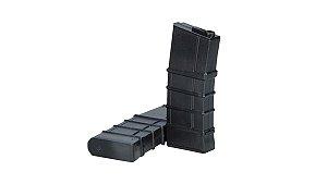 MAGAZINE PARA AIRSOFT - ARES - MODELO M16 (M4 - M16)- 130 BBs - Black