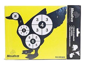 Alvo para treinamento de tiros - Pato selvagem